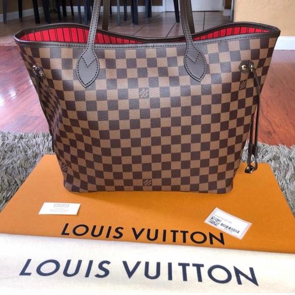 Louis Vuitton Handbags - Brand new Louis Vuitton Neverfull MM Damier Ebene